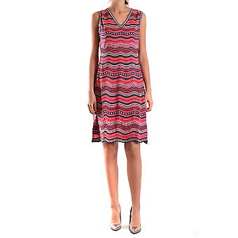 Missoni Damen KD0KD12K233947 Multicolour Baumwolle Kleid