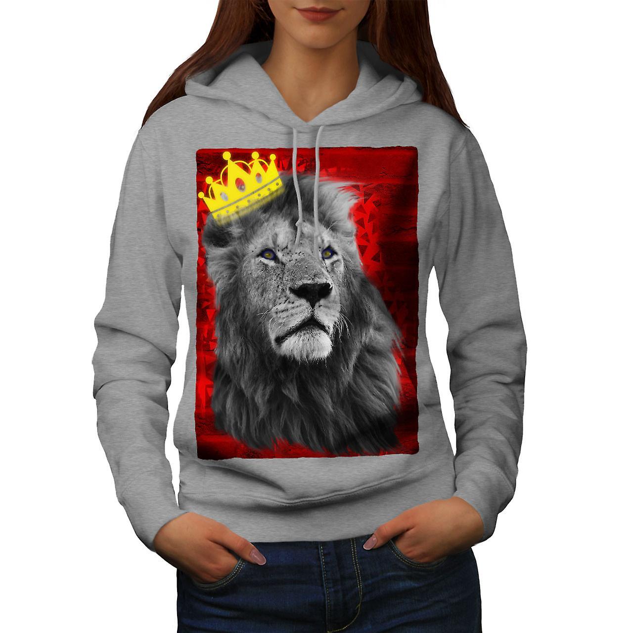 Royal Lion Royaume femmes grisHoodie