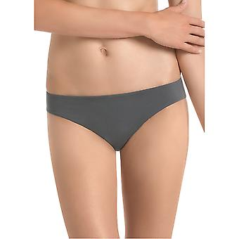Rosa Faia 1489-408 Women's Anthracite Grey Knickers Panty Full Brief