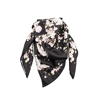 Givenchy Women's Floral Pattern Silk Scarf