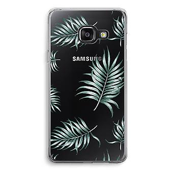 Samsung A3 (2017) Transparent Case - Simple leaves