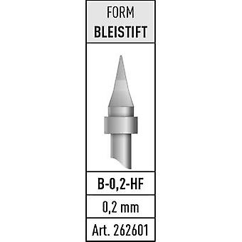 Soldering tip Pencil-shaped Stannol B-0,2-HF