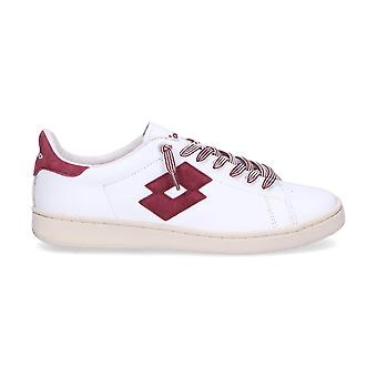 Lotto men's T812WHITE White leather of sneakers