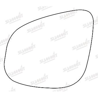 Left Stick-On Mirror Glass Easy to Fit For Renault KANGOO Express 2012-2017