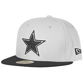 Nieuwe era 59Fifty uitgerust Cap - Dallas Cowboys grijs