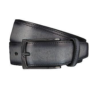 LLOYD Men's belt belts men's belts leather belt grey 4037