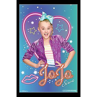 JoJo Siwa - Neon Poster Print