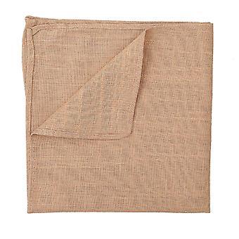 Fazzoletto da taschino lino Hopsack oro