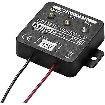Battery monitor Component Kemo M188 12 Vdc