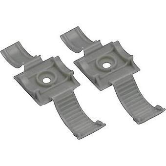 Panduit ARC.68-S6-Q14 ARC.68-S6-Q14 Cable mount Screw fixing + strap Grey 1 pc(s)