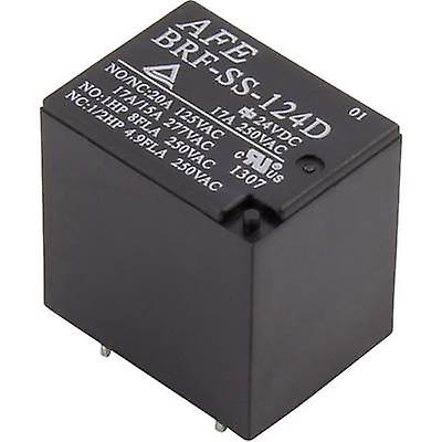 PCB relays 12 Vdc 17 A 1 change-over AFE BRF-SS-11
