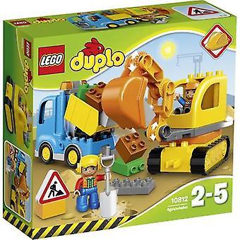 حفارة LEGO® DUPLO® 10812 & الشاحنات