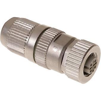 Harting 21 03 282 2405 evetuele connector M12-aansluiting, rechte nr. van spelden (RJ): 4-1 PC('s)