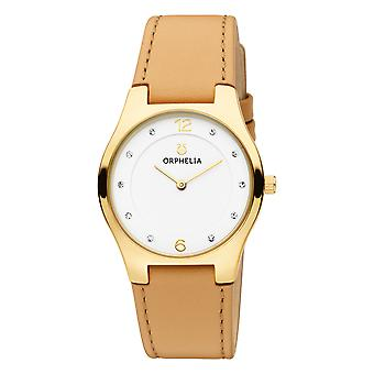 ORPHELIA Women Analogue Watch Chiaro Beige Leather OR11713
