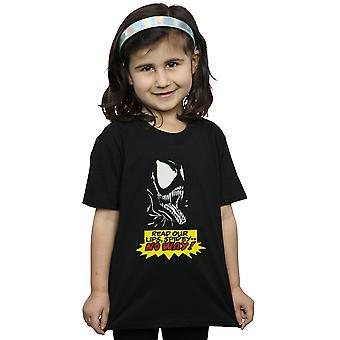 Marvel Girls Venom No Way T-Shirt