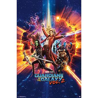 Guardians of the Galaxy 2 - Cosmic Poster Print