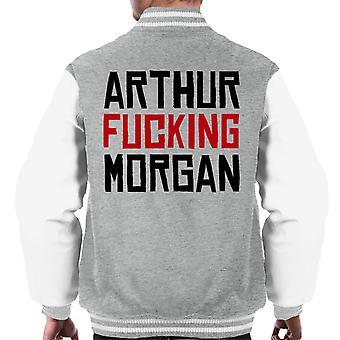Arthur Fucking Morgan Red Dead Redemption Men's Varsity Jacket