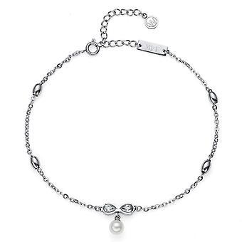 Oliver Weber ankel kæde bue stål CZ krystal