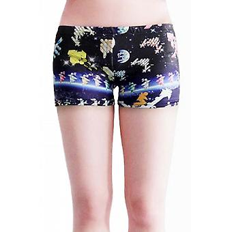Waooh - Fashion - Shorty printed universe and satellites