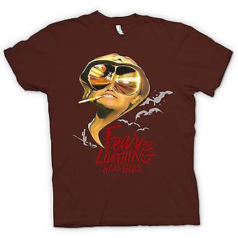 Kids t-skjorte-frykt og avsky flaggermus - Funny