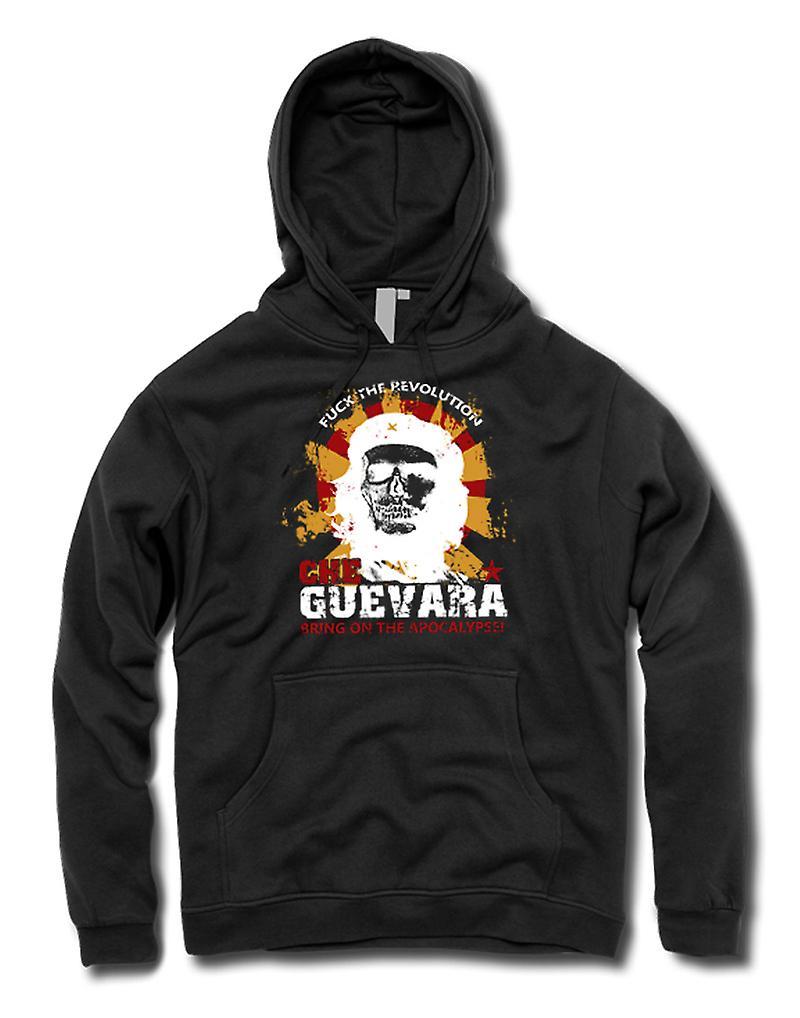 Mens-Hoodie - Che-Guevara - Apokalypse - Kommunismus