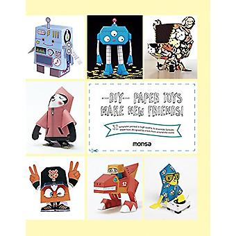 DIY Paper Toys - Make New Friends! by Patricia Martinez - 978841650019