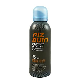 Piz Buin protect & cool Refreshing Sun mousse SPF15 medium protection 150 ml
