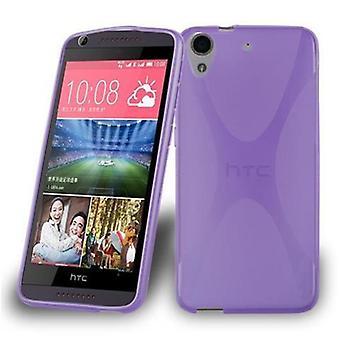 Cadorabo tapa uksessa HTC Desire 626 kotelon kansi-matka Puhelin kotelo joustava TPU silikoni-silikoni kotelo suoja kotelo erittäin ohut pehmeä takakannen kotelo puskuri