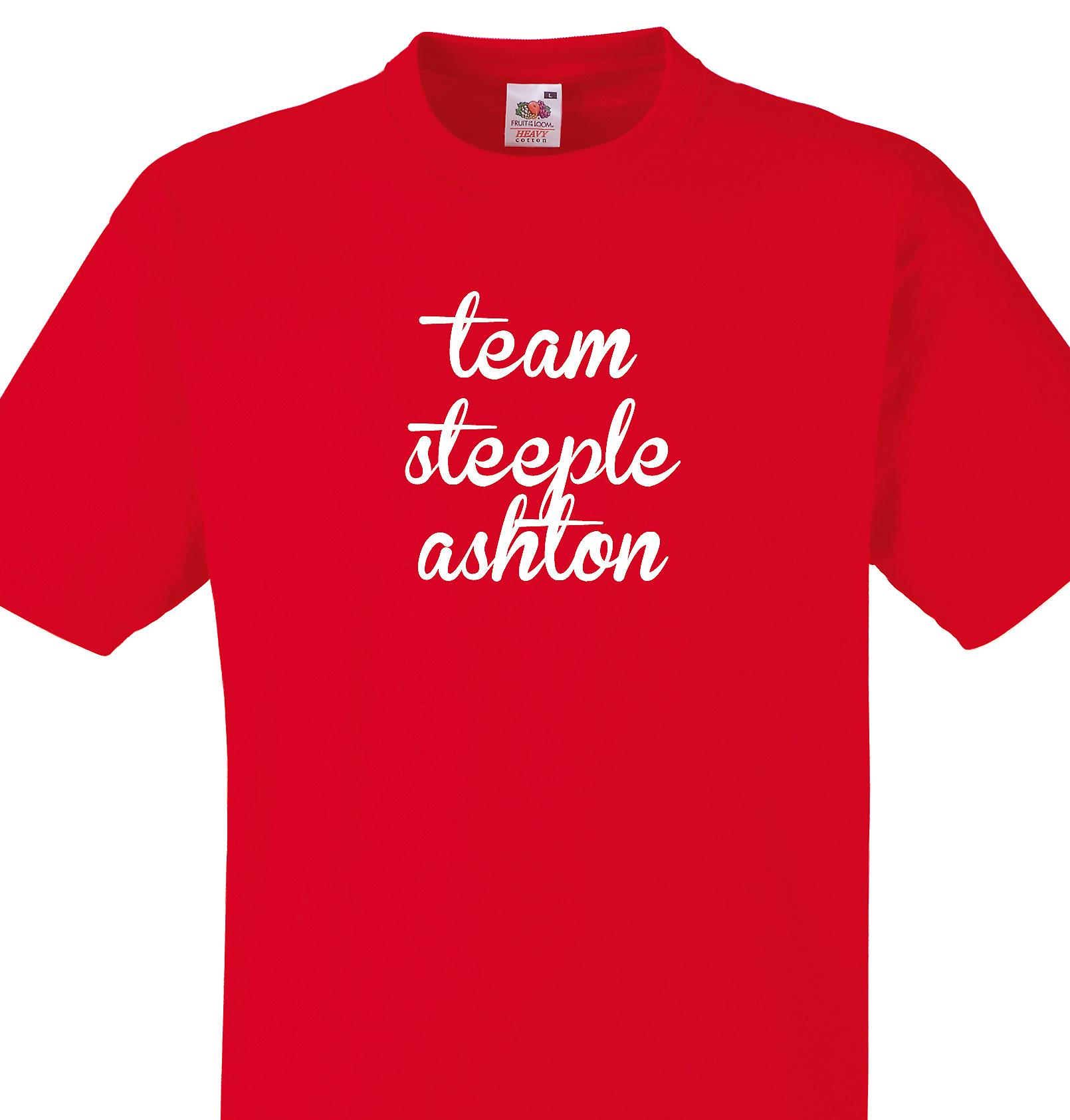 Team Steeple ashton Red T shirt