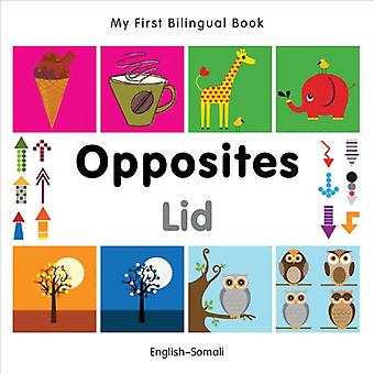 My First Bilingual Book - Opposites: English-Somali
