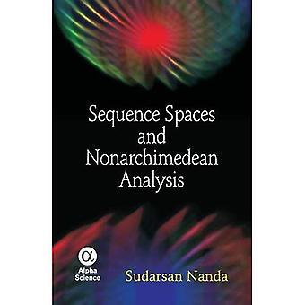 Sekvens utrymmen och Nonarchimedean analys