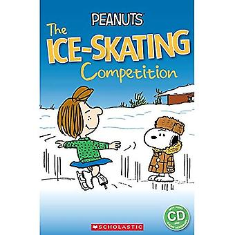 Peanuts: The Ice-Skating Competition (Popcorn Readers)