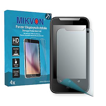 HTC Desire V1 Screen Protector - Mikvon Armor Screen Protector (Retail Package with accessories)