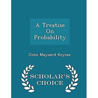 Un traité sur la probabilité - Edition choix du lettré