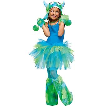 Glitter Tutu Child Green Blue