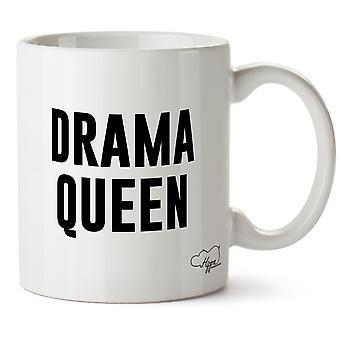 Hippowarehouse Drama Queen gedruckt Mug Tasse Keramik 10oz