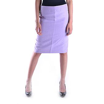 Armani Collezioni Lilac Polyester Skirt