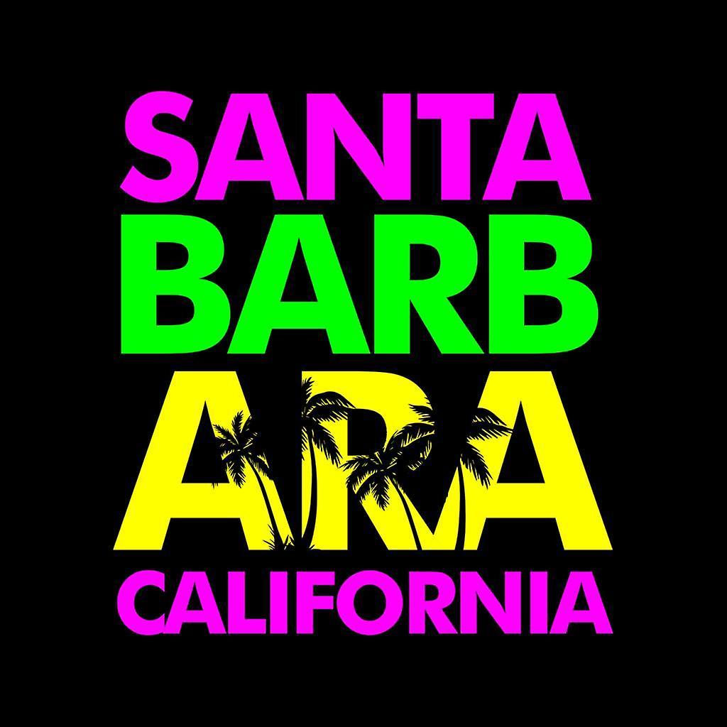 Santa Barbara Retro kleur tekst Kid de Hooded Sweatshirt