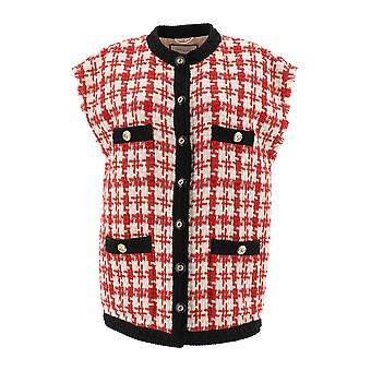 Gucci Red Wool Vest