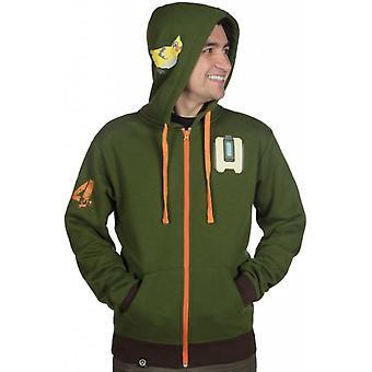 Overwatch hoodie, Bastion