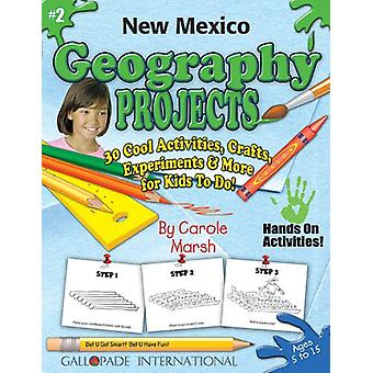 New Mexico Geography Projects - 30 Cool Activities - Crafts - Experim