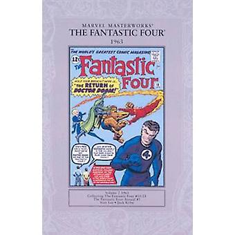 Marvel Masterworks - v. 2 - Fantastic Four 1963 by Stan Lee - Jack Kirb