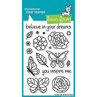 Lawn Fawn Clear Stamps Flutter By (LF383)