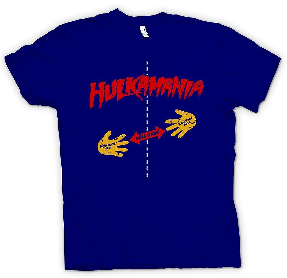 Mens T-shirt - Hulk Mania - Rip Shirt - Pull Here