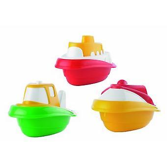 Ensemble de trois jouets bateau