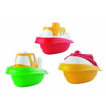Three Toy Boat Set