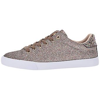 Guess Womens Maegan Fabric Low Top Lace Up Fashion Sneakers