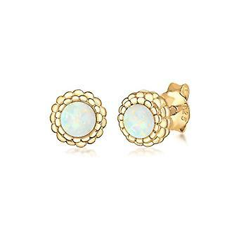 Elli Silver Women's Pin Earrings 311272717