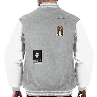 A.P.O.H Munch Fear Of Photography Quote Men's Varsity Jacket