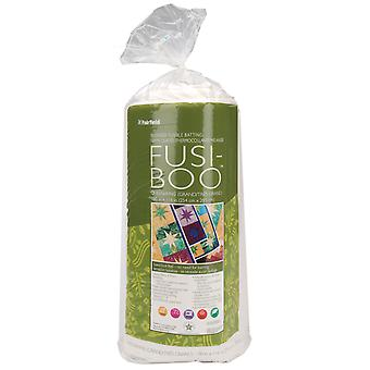 Fusi Boo Bamboo Fusible Batting Queen King Size 100